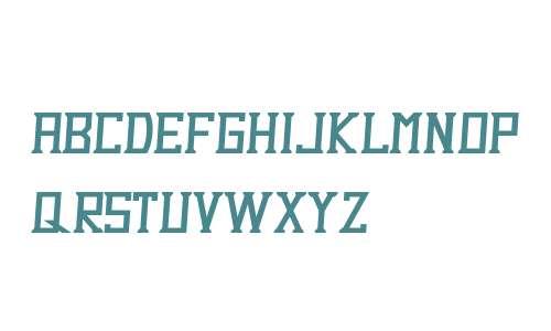 Dezert Demo Italic