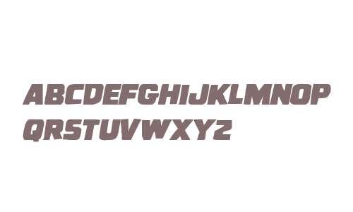 Uglier Things Mangled Italic