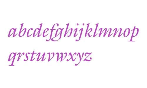 GalliardEF-Italic