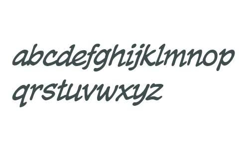 CCTrueBeliever Italic