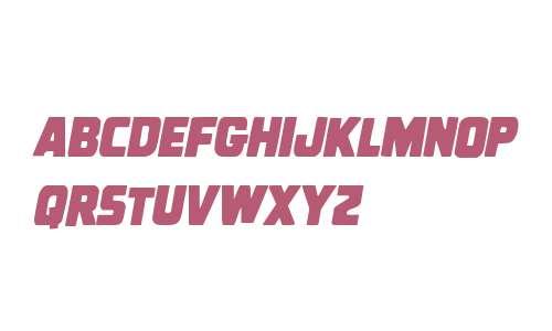Uglier Things Condensed Italic