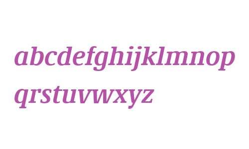 Demos Next W04 Bold Italic