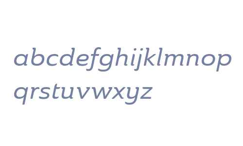 Ainslie W01 Ext Medium Italic V2