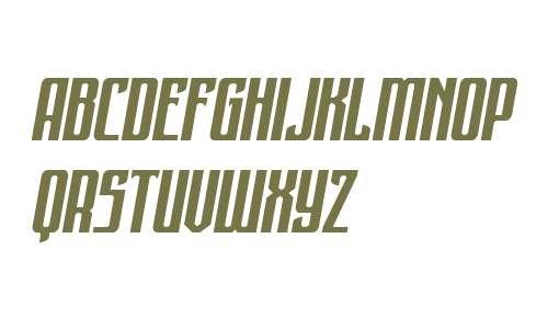 Night Traveler Expanded Italic