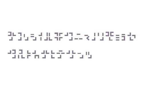321 Katakana