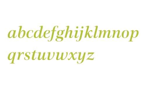 Civita W01 Medium Italic