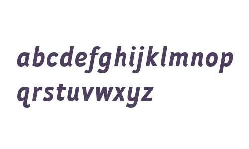 Folder W00 Bold Italic