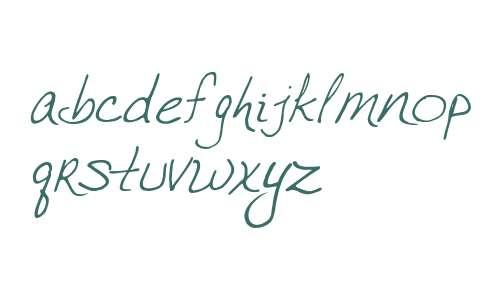 VTC JoeleneHand Regular Italic