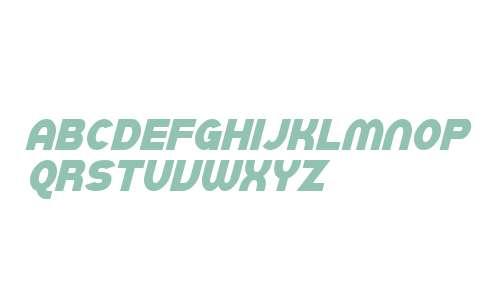 SF Juggernaut Condensed Italic V2 V2