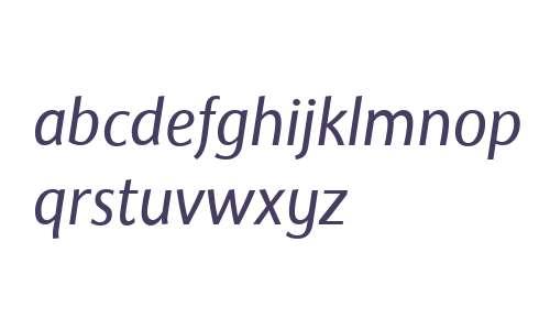 Rileyson W01 Junior Italic