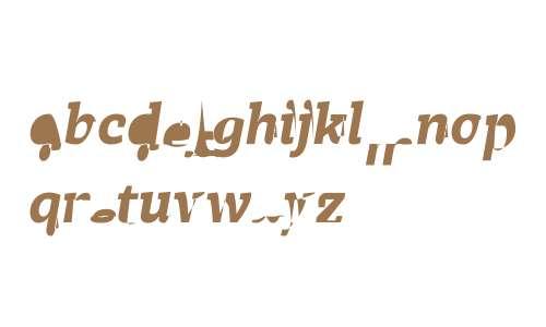 Achille II FY W03 Black Italic