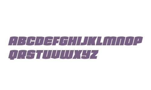 Team Galaxy Condensed Italic