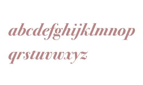 Bodoni Seventytwo ITC Bold Italic