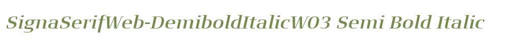 SignaSerifWeb-DemiboldItalicW03