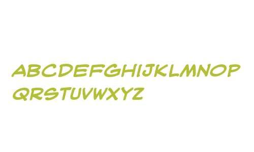 WebLetterer Pro BB Bold Italic