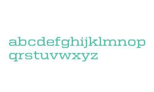 United Serif SemiExt Medium