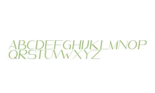 LeanderDemo-Italic
