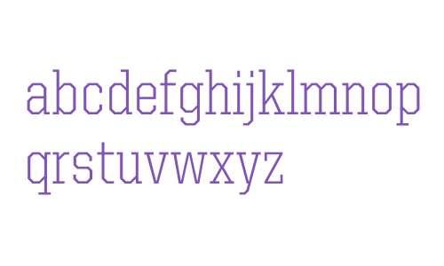 United Serif SemiCond Light