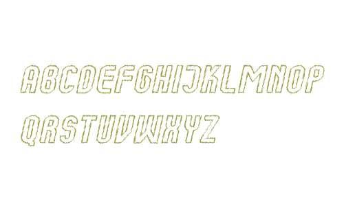 Kumba Sketch Outline Italic