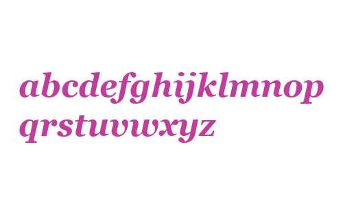 Georgia W99 Bold Italic
