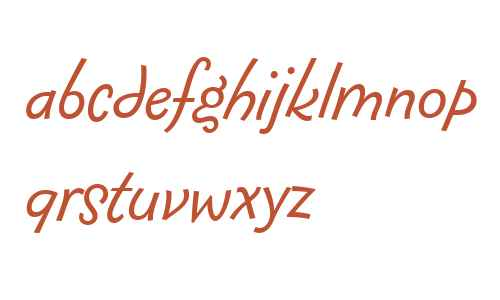 Fontesque Sans Offc W02 Italic