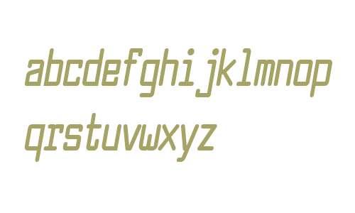 Larabiefont Compressed Bold Italic