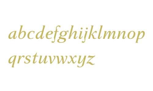 Haverj W08 Italic