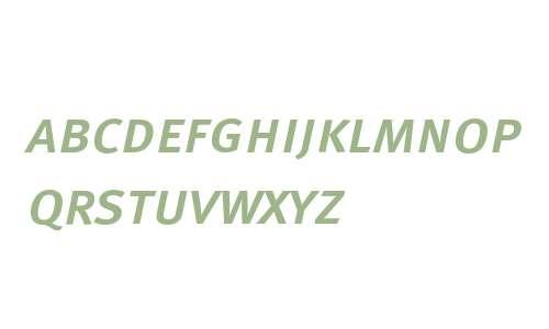 MetaMediumCyrLF-ItalicCaps