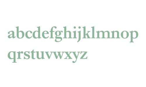 Ehrhardt* MONOTYPE Semi Bold