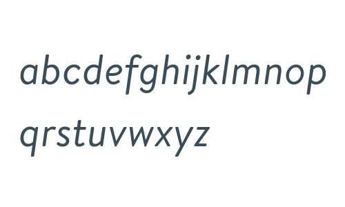 Brandon Text Regular Italic
