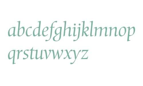 Mentor Std Light Italic