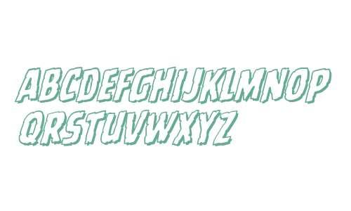 CCBattleScarredOpen W00 Italic
