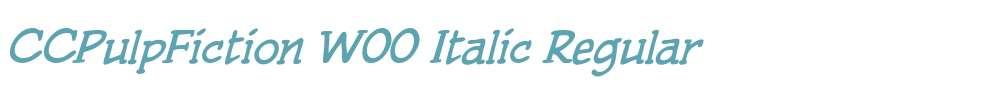 CCPulpFiction W00 Italic