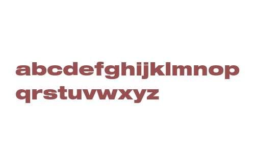 Helvetica 93 Black Extended
