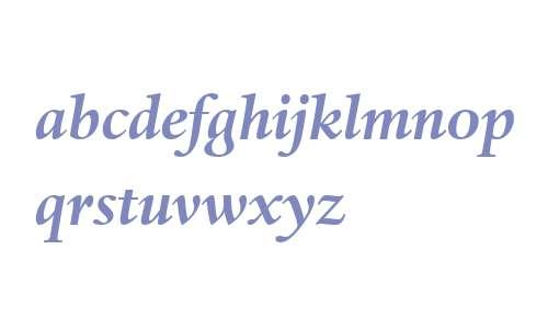 Haarlemmer MT W04 Bold Italic
