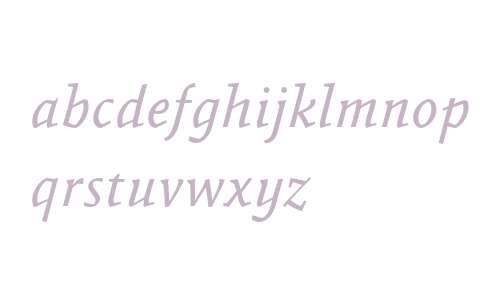 AbsaraWeb W03 Italic