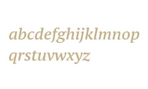 PT Serif Pro Ext DemiItalicW08
