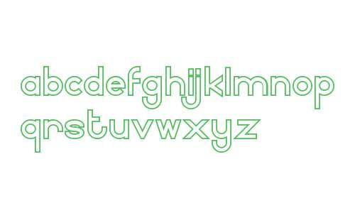 Fairry E Demo Serif Outline