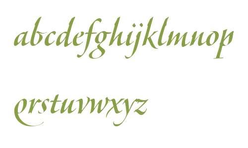 Veljovic Script LT W04 Medium