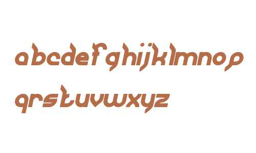 JAGUAR Bold Italic