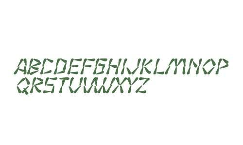 SF Wasabi Bold Italic V2 V2