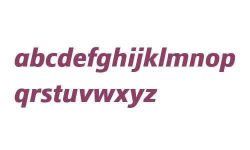 Epoca W04 Bold Italic