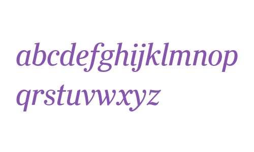 Ysobel Display W04 Italic