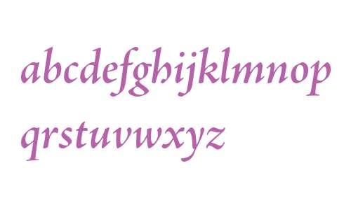 Adobe Jenson Pro Semibold Italic Subhead