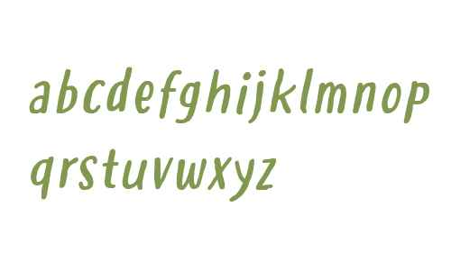 Hastoler Italic