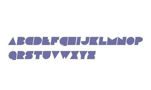Disco Deck Semi-Italic