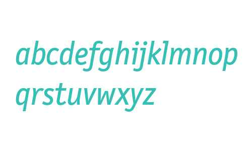 LetterGothicTextWeb-Italic W03
