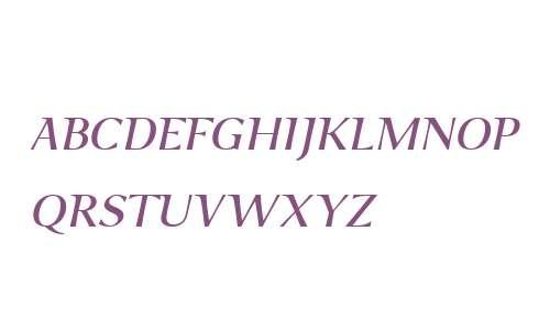 P22 Foxtrot Sans W01SC It SC