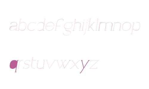 Archivio Italic W00 Slab Ou 400