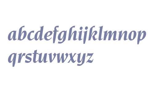 Novarese* Bold Italic